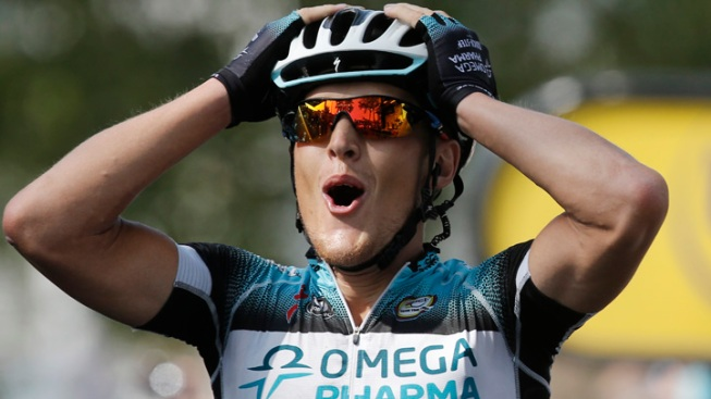 Italian Matteo Trentin Wins Stage 14 of Tour de France