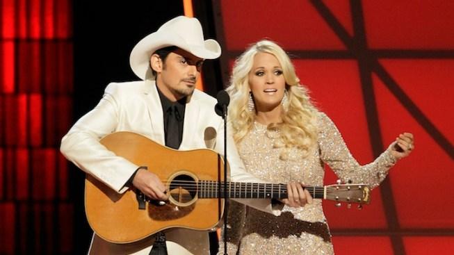 Carrie Underwood and Brad Paisley Returning to Host 2013 CMA Awards