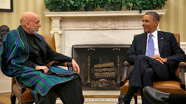 Obama: U.S. to Take Support Role in Afghanistan This Spring