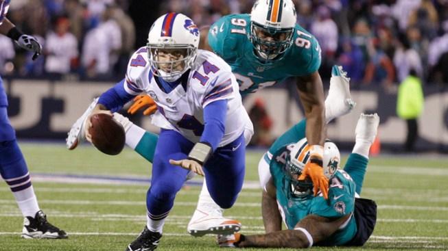 Buffalo Defense Stuffs Miami in 19-14 Win