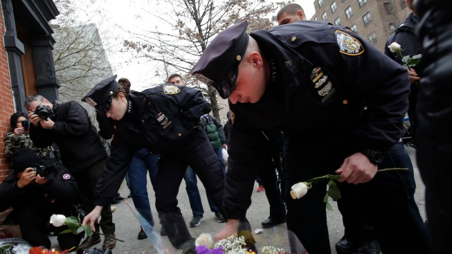 """Police Departments Across the U.S. on High Alert After NYPD Officers Killed; Bratton Calls Anger Toward Cops  """"Terribly Misplaced"""""""