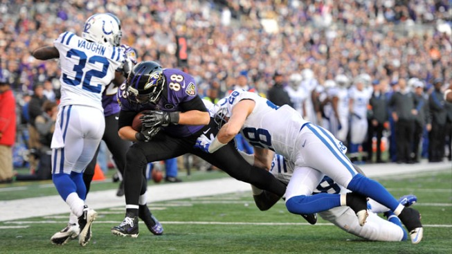 Colts' Surprise Run Ends with 24-9 Loss to Ravens