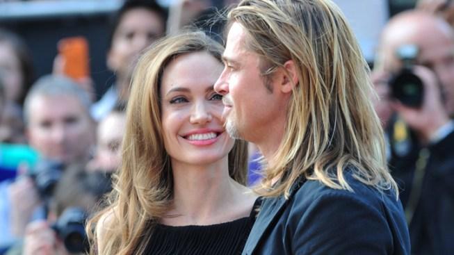 """Jolie Joins Pitt at """"World War Z"""" London Premiere"""