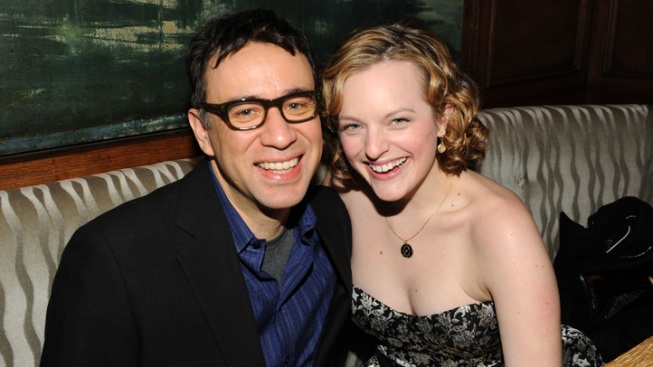"""Mad Men's"" Elisabeth Moss Disses Ex-Husband Fred Armisen"