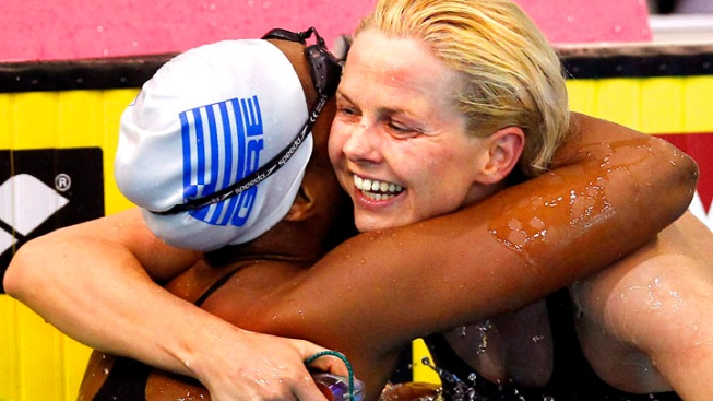 Olympic Champ Steffen Rebounds with Gold in 50 Free