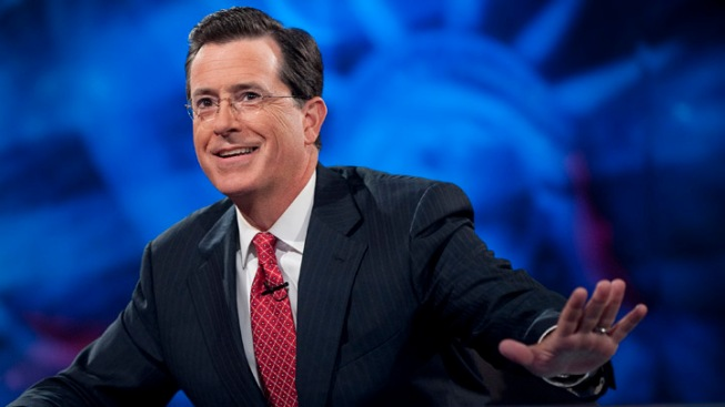 "Colbert Counts Down to ""Suck-It-Up Wednesday"""
