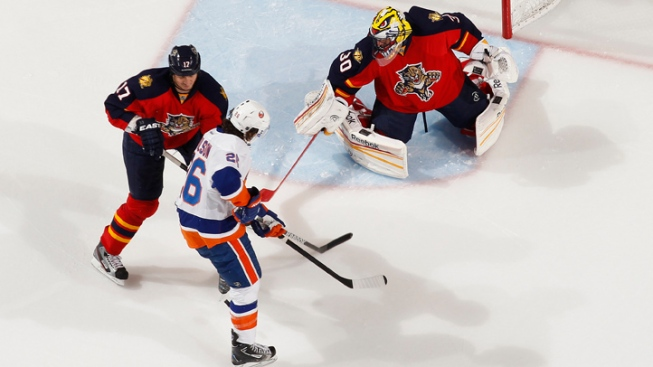 Florida Panthers Beaten by New York Islanders, 4-3