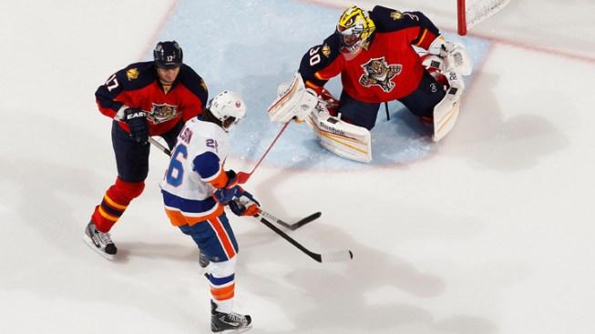 Florida Panthers Beaten by New York Islanders, 4-3