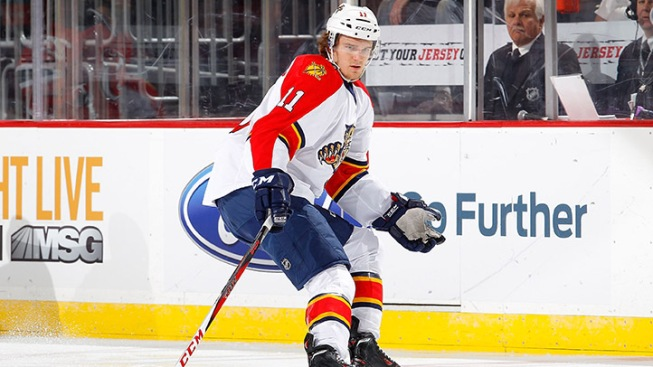 Panthers ink six year extension with Jonathan Huberdeau