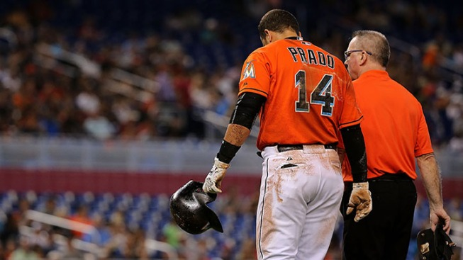 Martin Prado won't be healthy enough for Opening Day