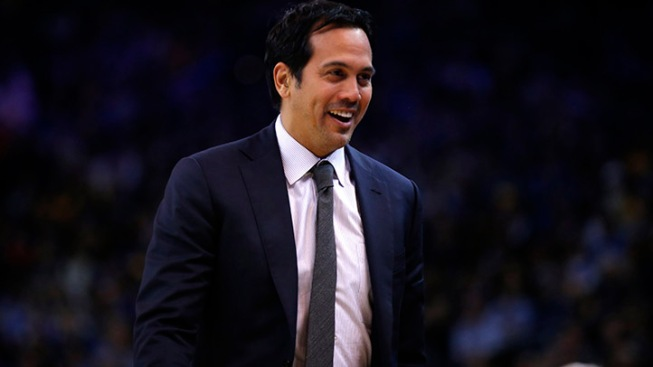 Heat's Spoelstra Named Finalist for Coach of the Year