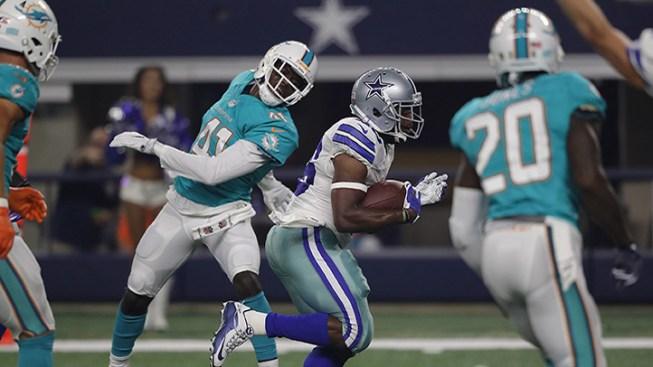 Romo, Prescott lead Dallas win; Dolphins move with Tannehill