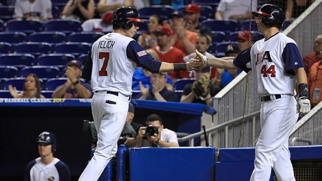 Team USA Advances to Second Round of World Baseball Classic