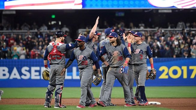 U.S.  win eliminates Dominican Republic from Classic