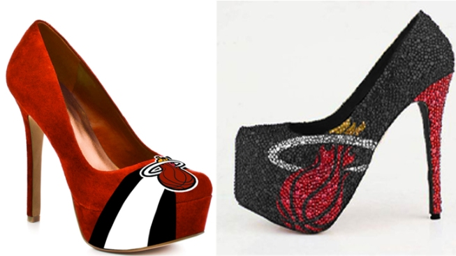 Miami Heat High Heels Hit the Market