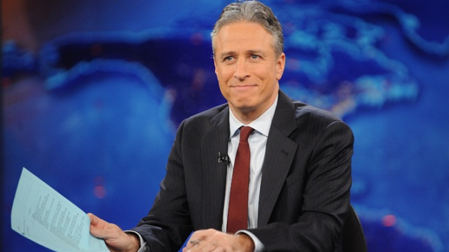 "Jon Stewart Makes Long-Awaited Return to ""The Daily Show"""