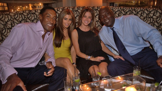 Michael Jordan Engaged