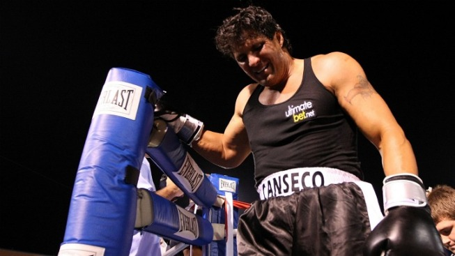 Canseco Sends Twin Brother to Fight for Him