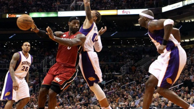 Ailing LeBron James, Miami Heat End Long Trip By Beating Phoenix Suns