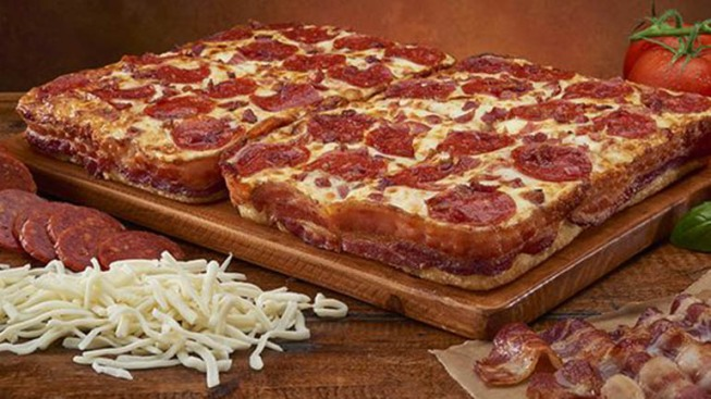 Little Caesars Creates Bacon-Wrapped Pizza