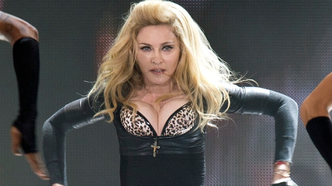 French Party to Sue Madonna Over Swastika Image