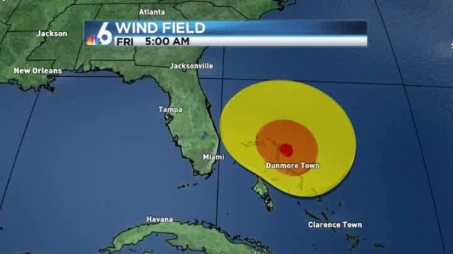Tropical Storm Warning Issued for Part of Florida\'s East Coast - NBC ...
