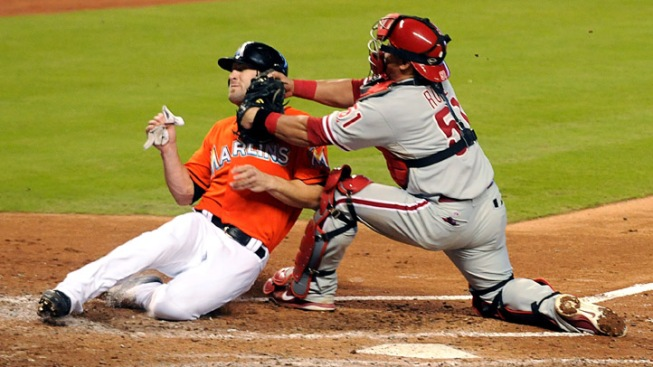 Miami Marlins Bested by Cole Hamels and Phillies, 4-1