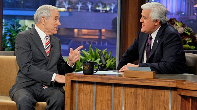 Ron Paul Tells Jay Leno Why He's Not Quitting