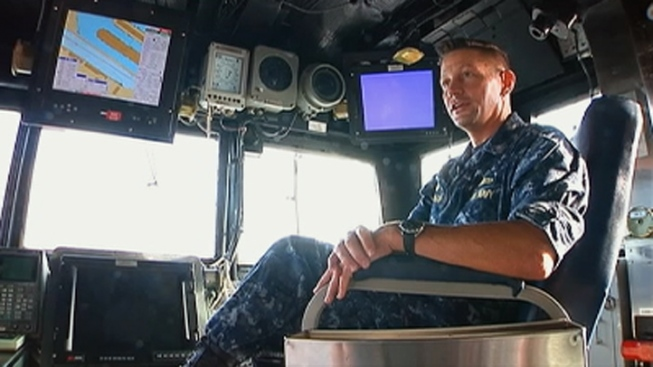 South Florida Native Sails Home as Captain of Navy Warship