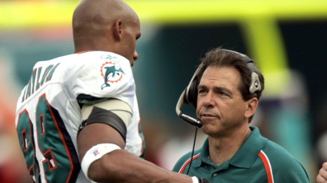Nick Saban Discusses Dolphins Tenure