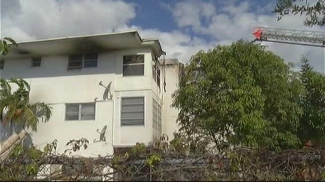 Crews Clean Up After Plantation Apartment Complex Fire - NBC 6 South