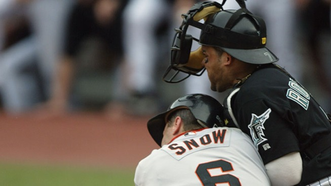 Marlins Players Past and Present Oppose New Home-Plate Collision Rule