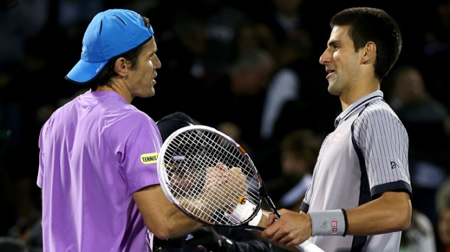 Two-Time Defending Champion Novak Djokovic Upset by Tommy Haas at Sony Open
