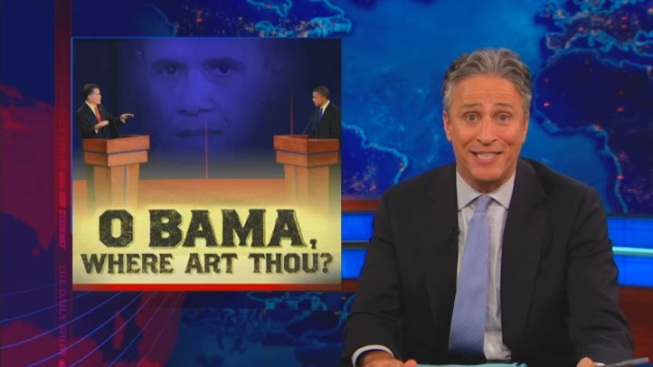 Stewart: America Agrees on Obama's Bad Debate Performance