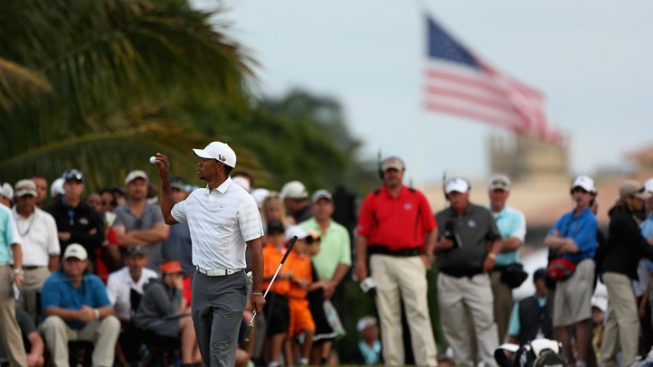 Tiger Woods Has 4-Shot Lead Entering Final Round of Cadillac Championship in Doral