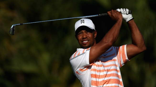 Tiger Woods in Charge Heading Into Saturday at Cadillac Championship in Doral
