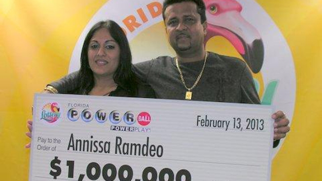 West Park Woman Claims $1 Million Powerball Prize