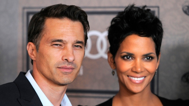 Halle Berry Marries Olivier Martinez in France