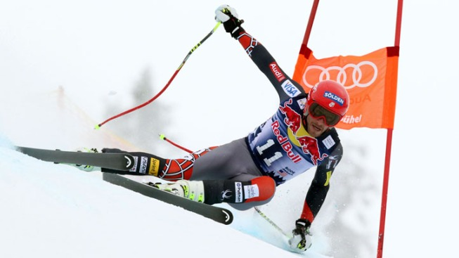 USA's Bode Miller Tops Opening Downhill Training Session