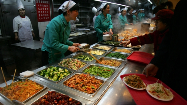 Pals Find Limit to All-You-Can-Eat Buffet