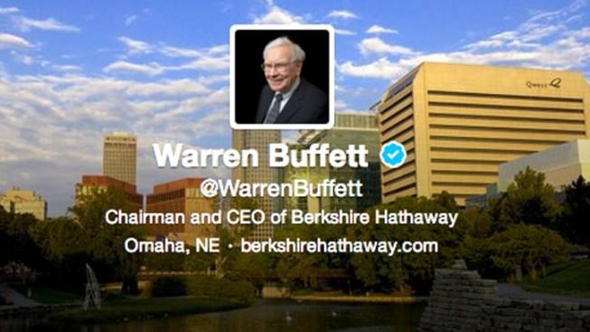 """Warren Buffett's New Twitter Account Is """"in the House"""""""