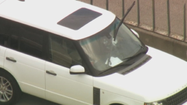 Debris Pierces Vehicle Along Interstate-95; No Injuries