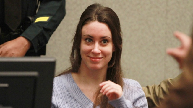 Casey Anthony Polite to Probation Officer