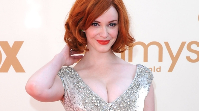 "Christina Hendricks on ""Mad Men"" Appeal: It's the Underwear"