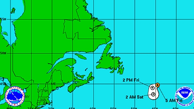 Tropical Storm Chris Becomes Post Tropical Cyclone