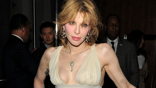 Courtney Love Faces Eviction for Questionable Wallpaper