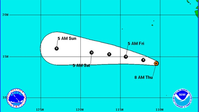 Tropical Storm Daniel Forms in Pacific: NHC