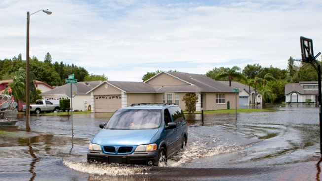 Gov. Scott Tours Hard-Hit Areas After Debby