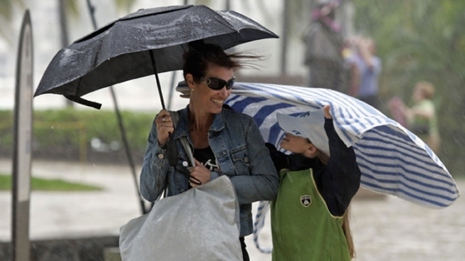 Frightful Weather Rolls Into South Florida