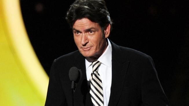 Charlie Sheen's Emmy Appearance a Wisely Understated Affair